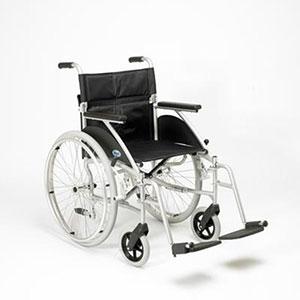 Narrow width folding wheelchair